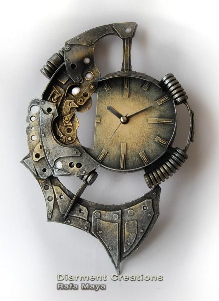 Steampunk fantasy and style for Cool nightstand clocks