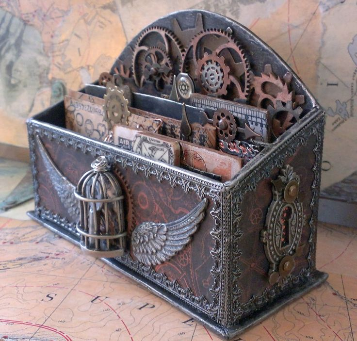 Steampunk fantasy and style for Diy steampunk home decor