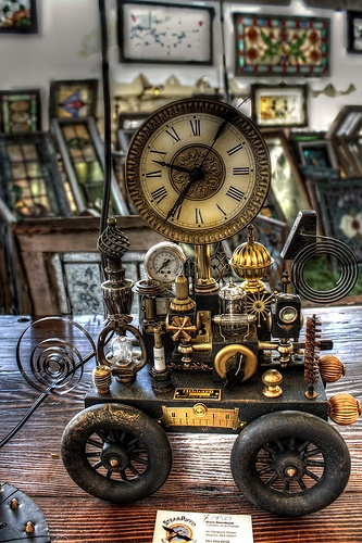 Steampunk Clock 3