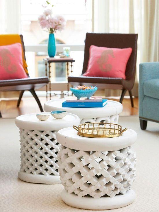 taburet gradina ceramica