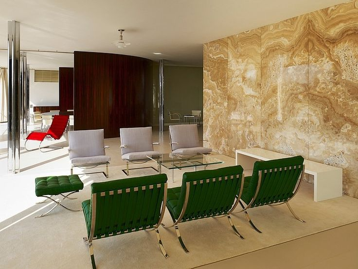 Villa Tugendhat_Barcelona_Chairs