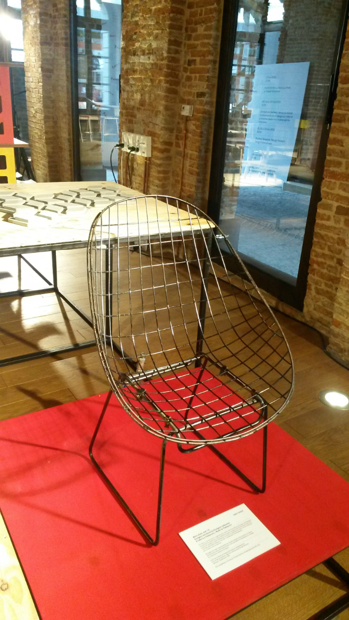 Wire chair_anii 70_designer unknown