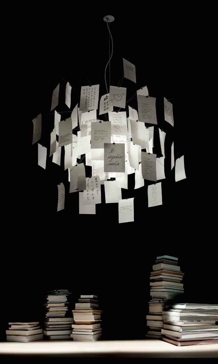 ingo maurer enchanting light fixtures. Black Bedroom Furniture Sets. Home Design Ideas
