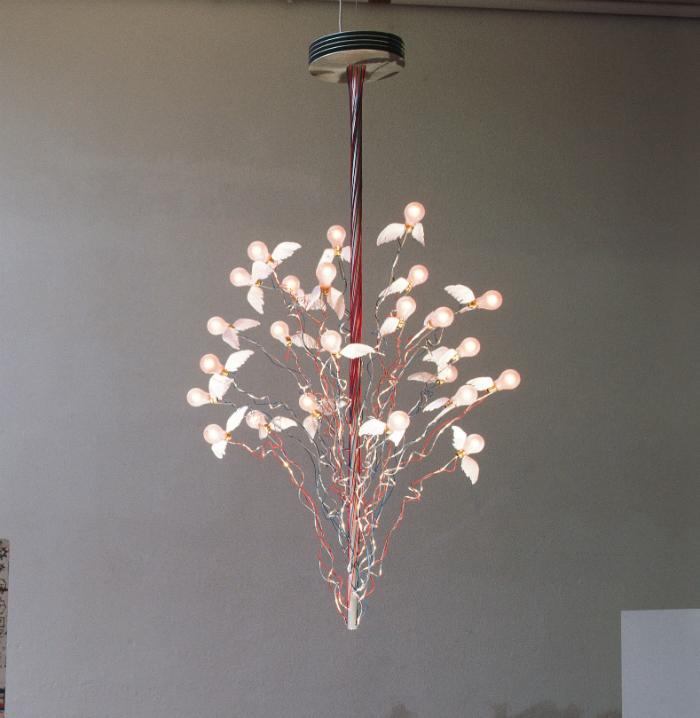 ingo maurer enchanting light fixtures. Black Bedroom Furniture Sets. Home Design Ideas