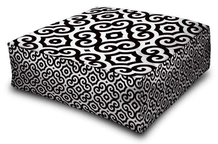 decorative floor cushion 2