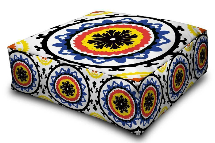 decorative floor cushion