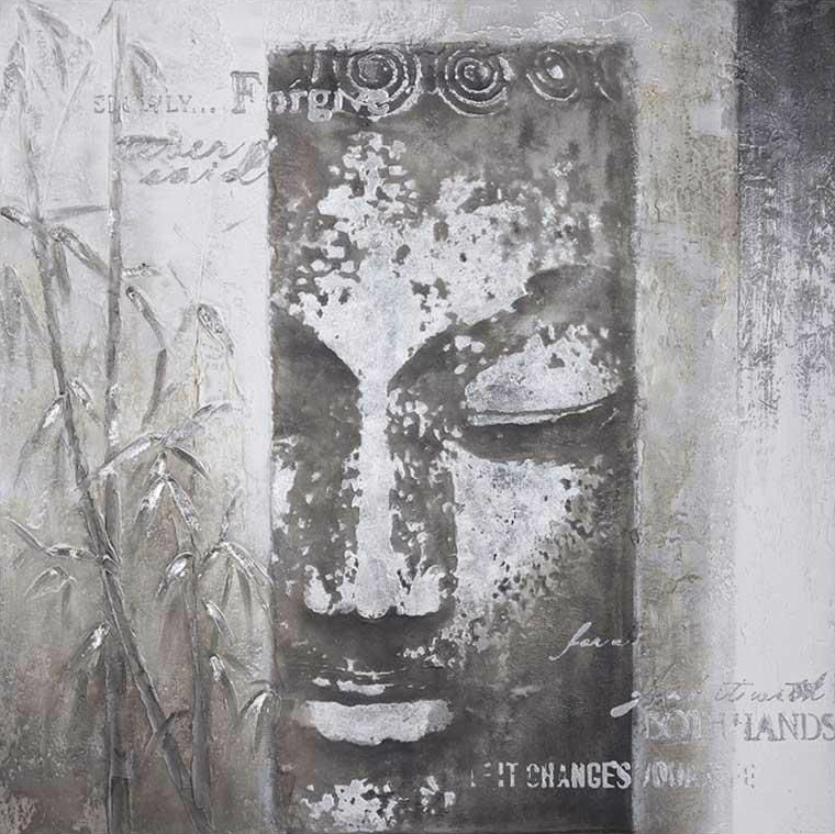 ilustratie buddha gri