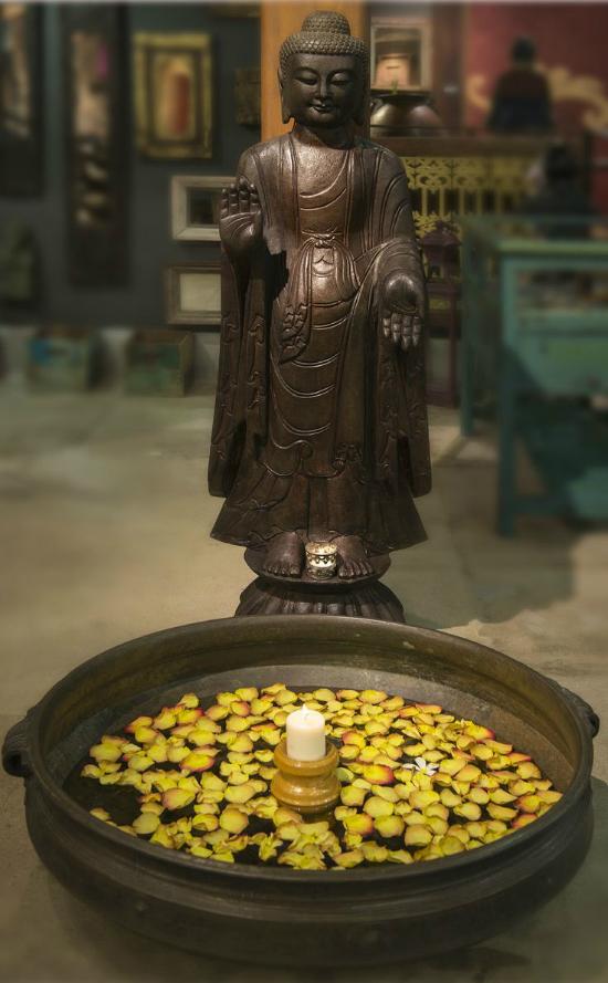 Statueta Buddha Varada Mudra
