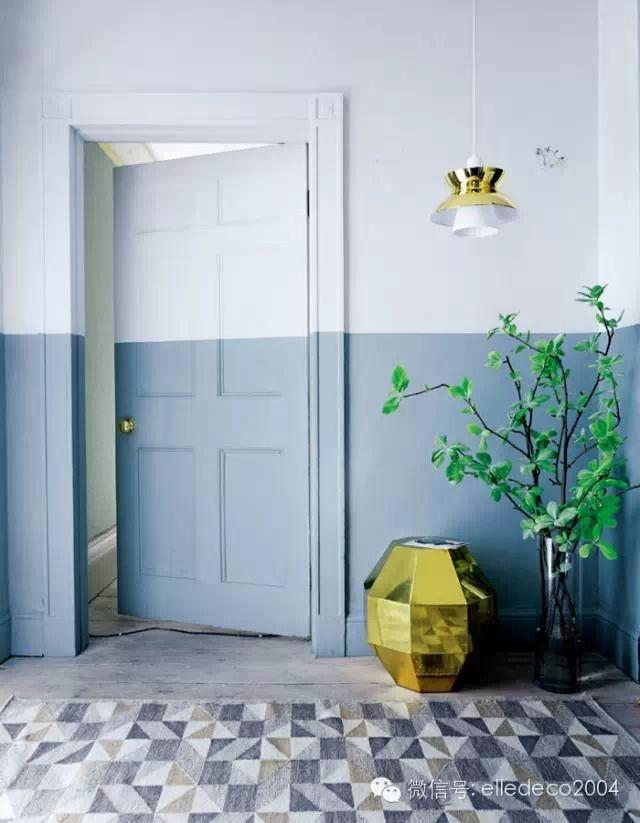 Amenajari interioare – Pereti in doua culori 2