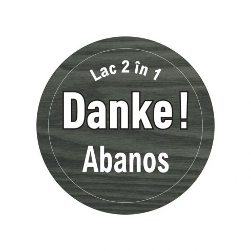 lac pentru lemn abaos eticheta