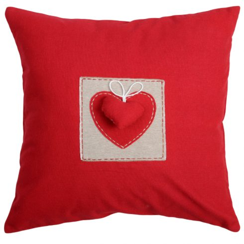 decorative pillow joliesse red