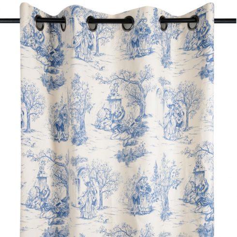 Draperie vintage albastru Galanterie - catalog