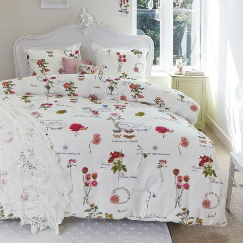Lenjerie de pat cu flori rosii - Catalog