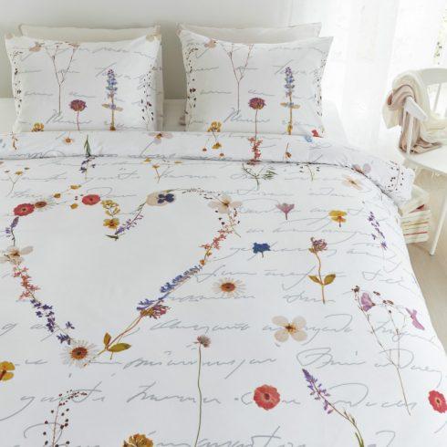 Lenjerie pat cu flori multicolora Primavara - Catalog