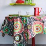 tablecloth Mandala Colima athracite