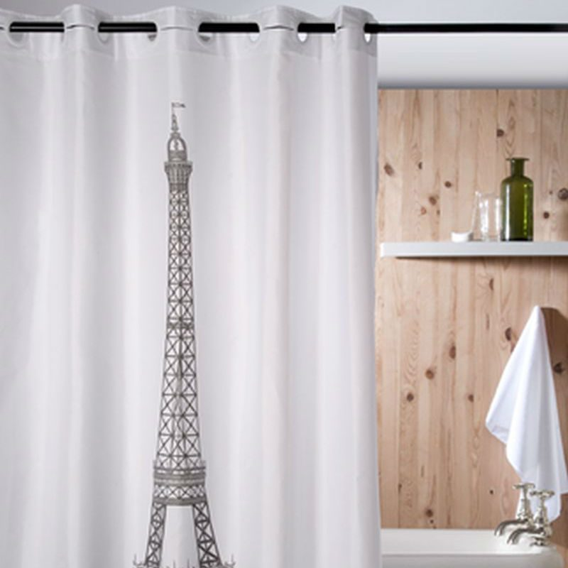 Perdea pentru baie vintage Tour Eiffel Catalog