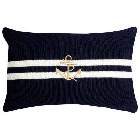 Perna stil marin tricot bleumarin Brehec - Catalog