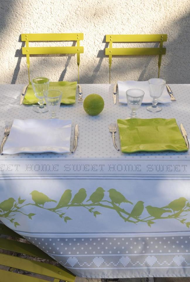 tablecloth pie birds