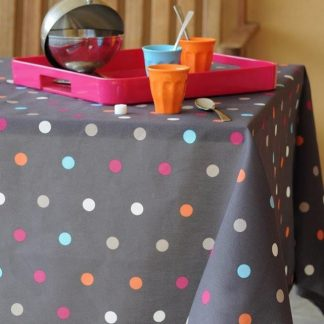 tablecloth Rondy gray
