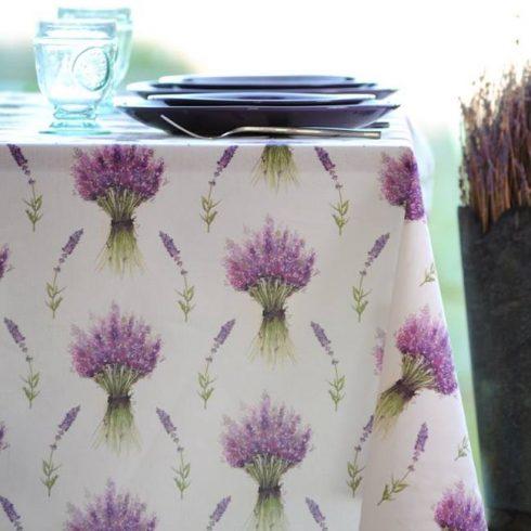 lavander tablecloth