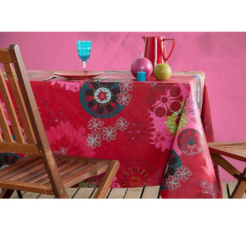 tablecloth Mandala Rosie square