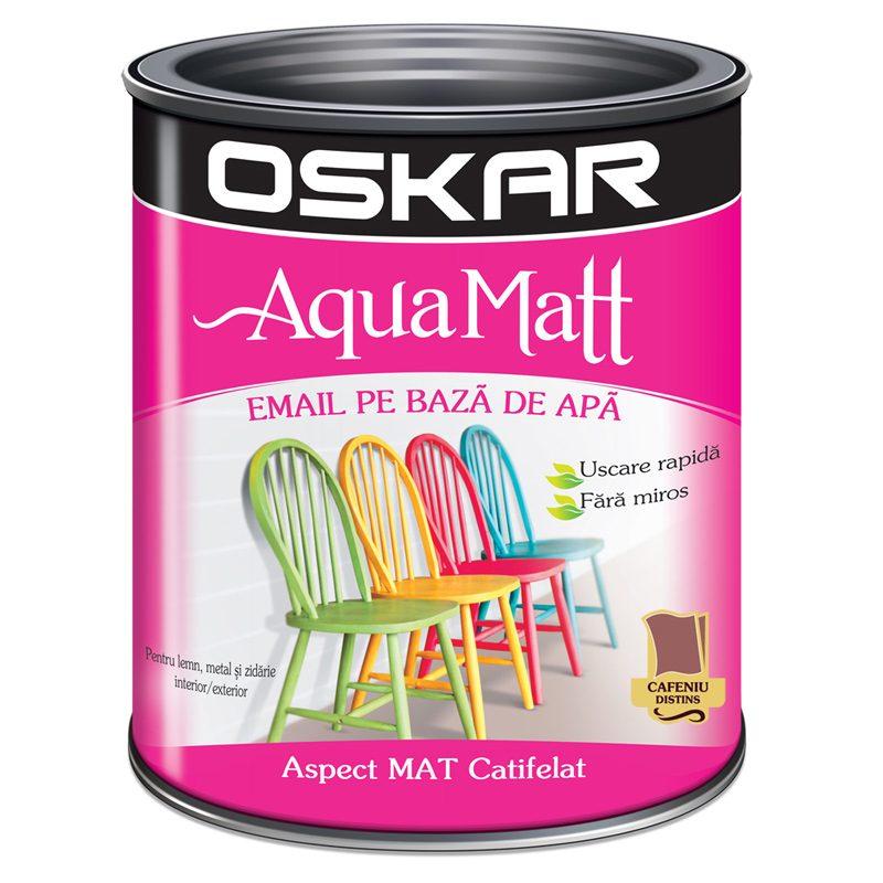 Vopsea acrilica cafenie Oskar Aqua Matt Catalog