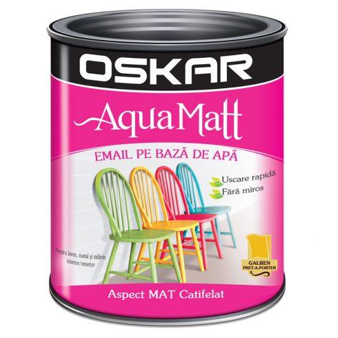 Vopsea acrilica Galbena Oskar Aqua Matt Catalog