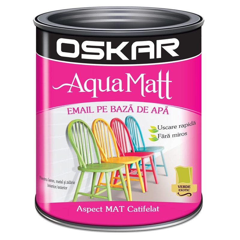 Vopsea Acrilica Verde Oskar Aqua Matt Catalog