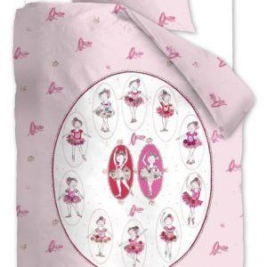 lenjerie fetite pat roz Ballet Pink-800x800