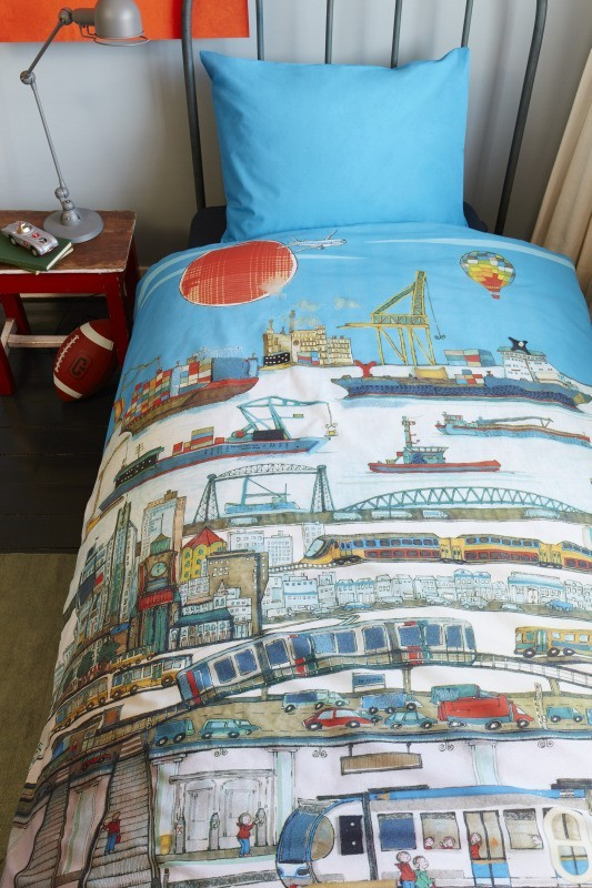 Lenjerie de pat copii Oras Port