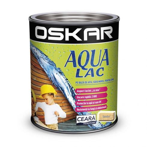 Lac pe baza de apa Oskar Aqualac incolor
