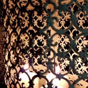 Felinar Vintage Boho Angelica Home Country detaliu