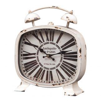Ceas de masa vintage metalic Antiquite de Paris