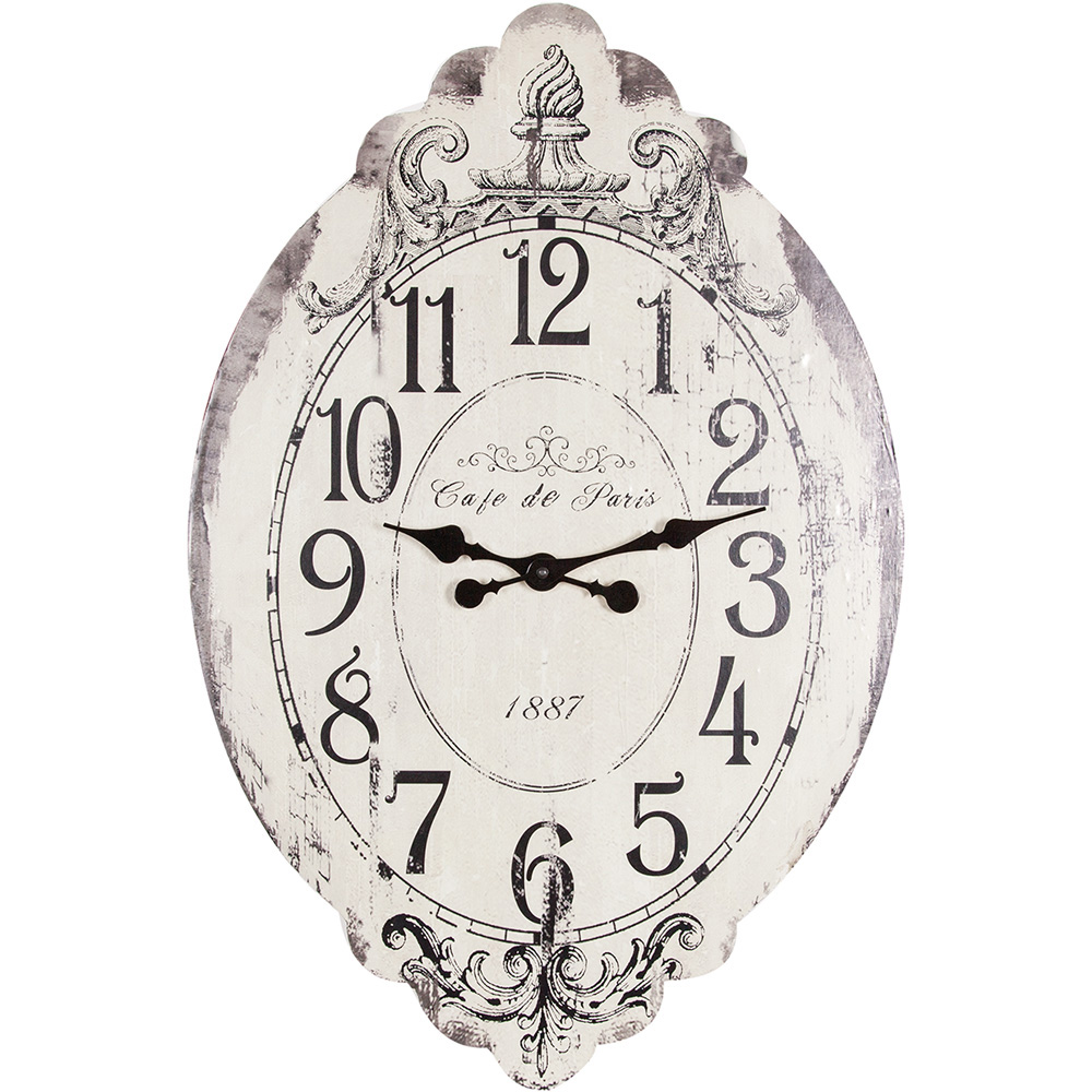 Wall clock Cafe de Paris – Angelica Home & Country