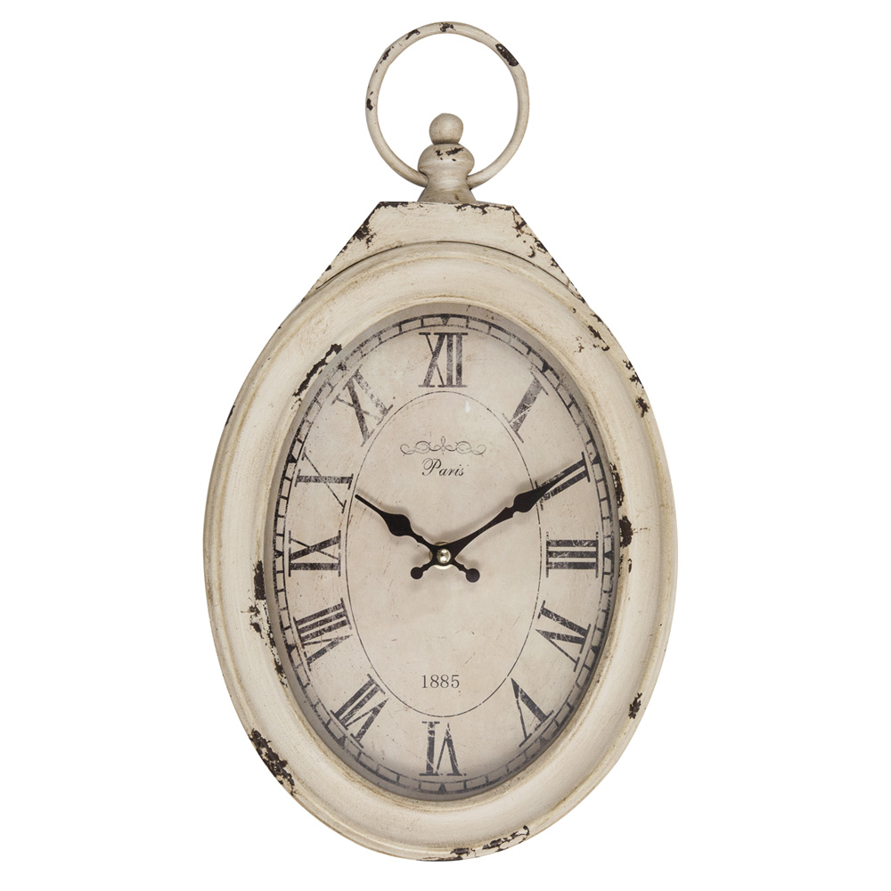 Wall clock Vintage Paris 1885 – Angelica Home & Country