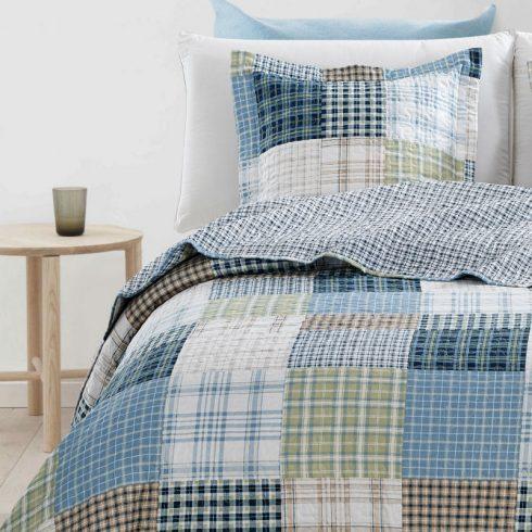 Cuvertura patchwork cu carouri Nicolle Catalog