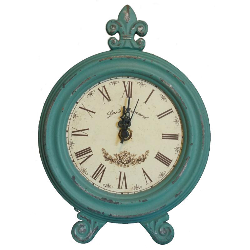 Ceas de masa turcoaz Vintage