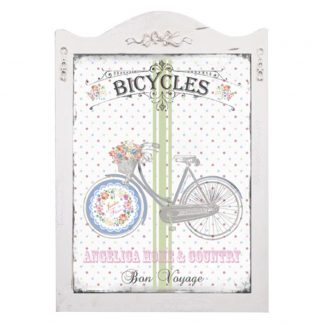 Tablou decorativ Shabby Chic - bicicleta retro