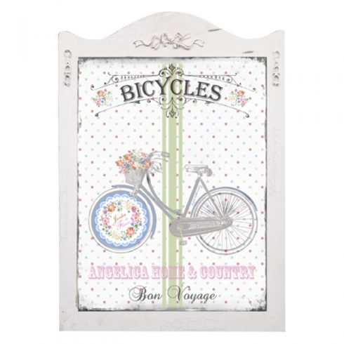 Tablou decorativ Shabby Chic - bicicleta retro