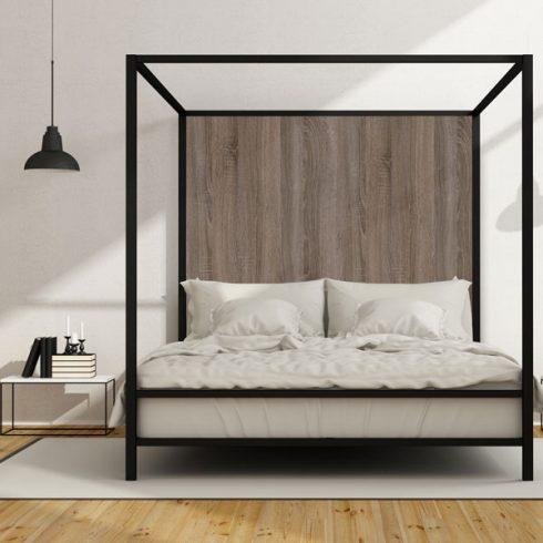 Autocolant mobila Artar Mocca - Tablie pat