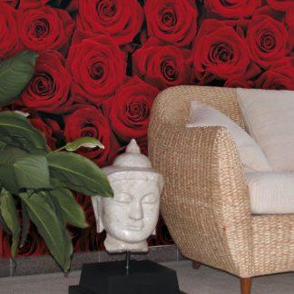 Fototapet Trandafiri Rosii - Impuls pasional Interior