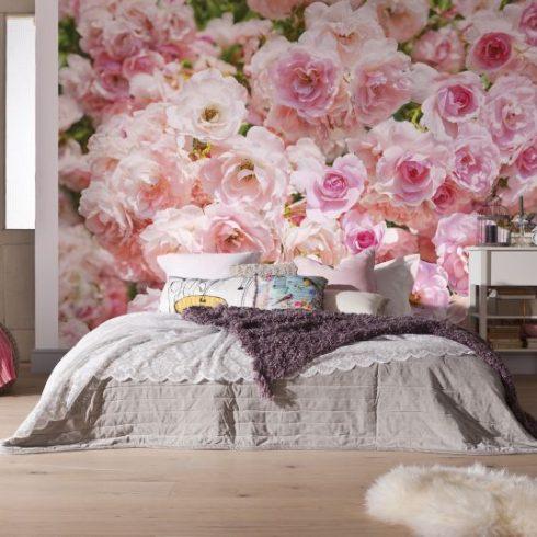 Fototapet Trandafiri - Roz Sublim Interior
