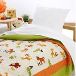 Cuvertura pat matlasata pentru copii Farm