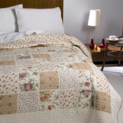 Cuvertura patchwork crem - Nadia Interior