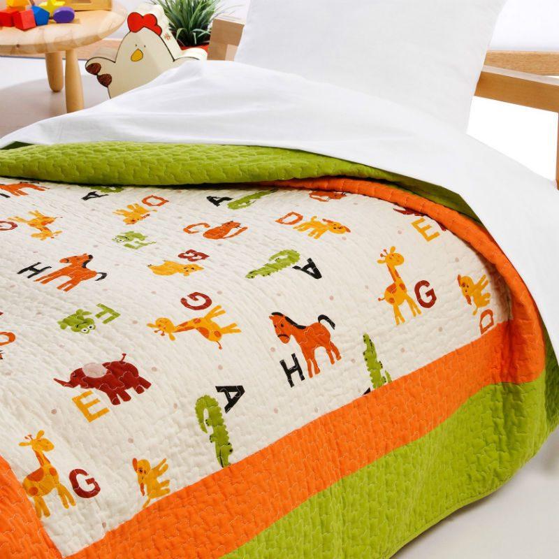 Cuvertura pat copii matlasata Farm Catalog
