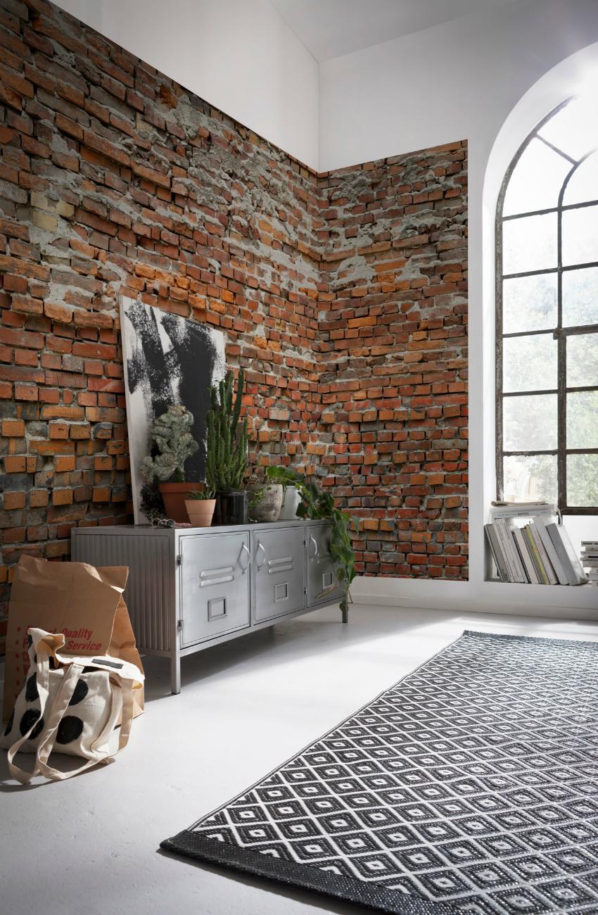 Stone Photomural Brick Wall Vlies