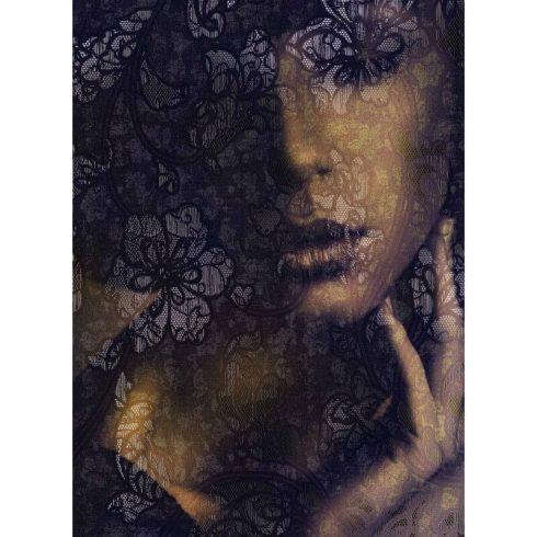 Fototapet Portret de femeie – Pasiunea Dantelei Produs