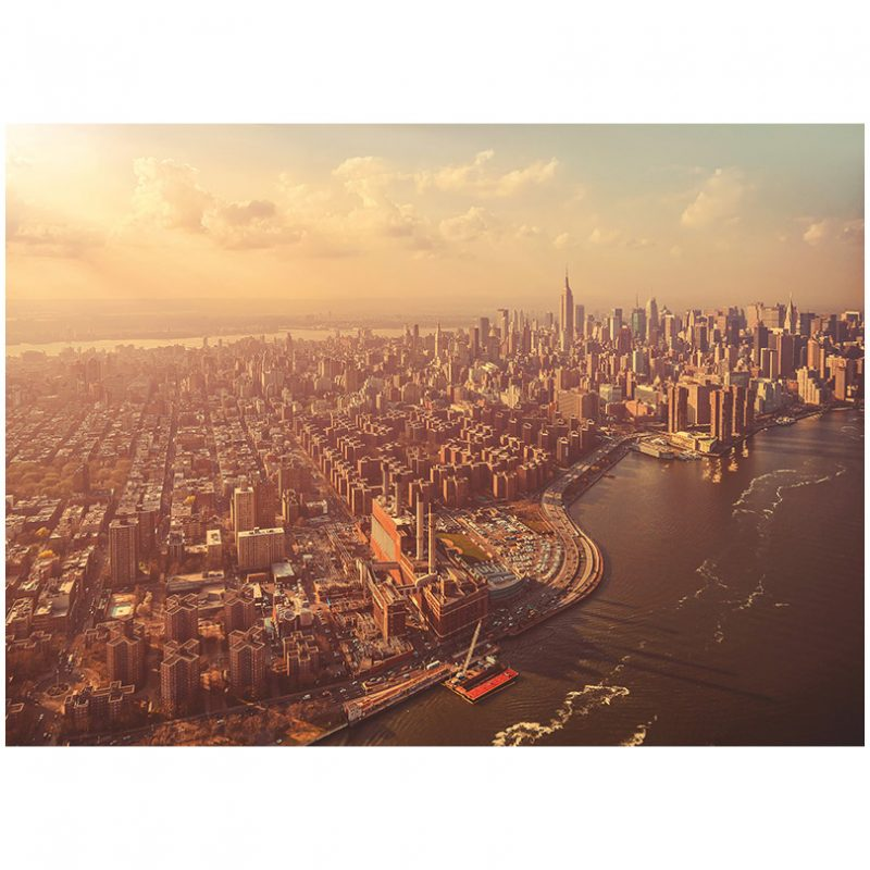 Fototapet Manhattan in amurg