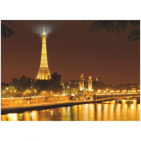 Fototapet Orase Noaptea Aurie Paris