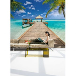 Fototapet Plaja - Vacanta la resort Catalog